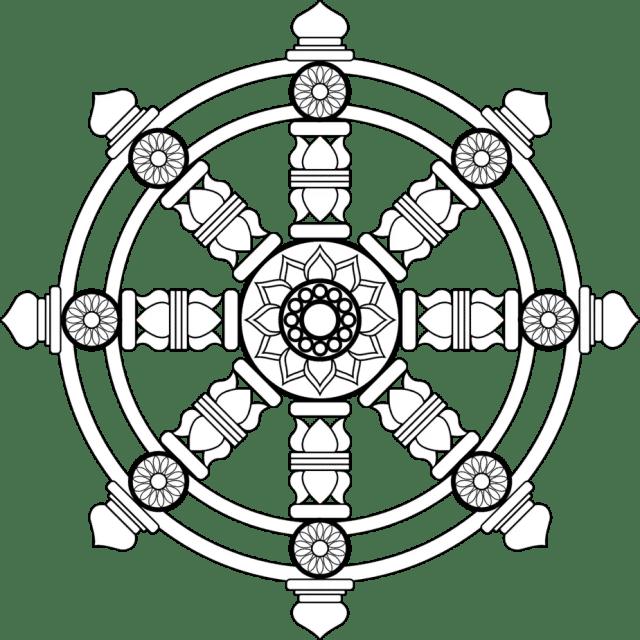 Dharmachakra as a Buddhist Symbol