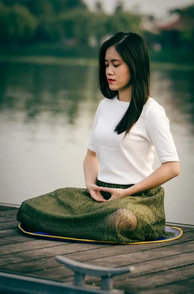 Meditation seated | Photo by Le Minh Phuong on Unsplash