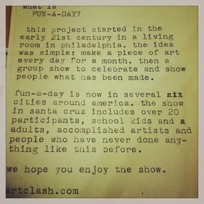 Art-a-Day Invite