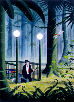 Artist Eric Drooker created art that prefigured another world that was possible.