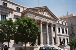Spains Congress of Deputies building
