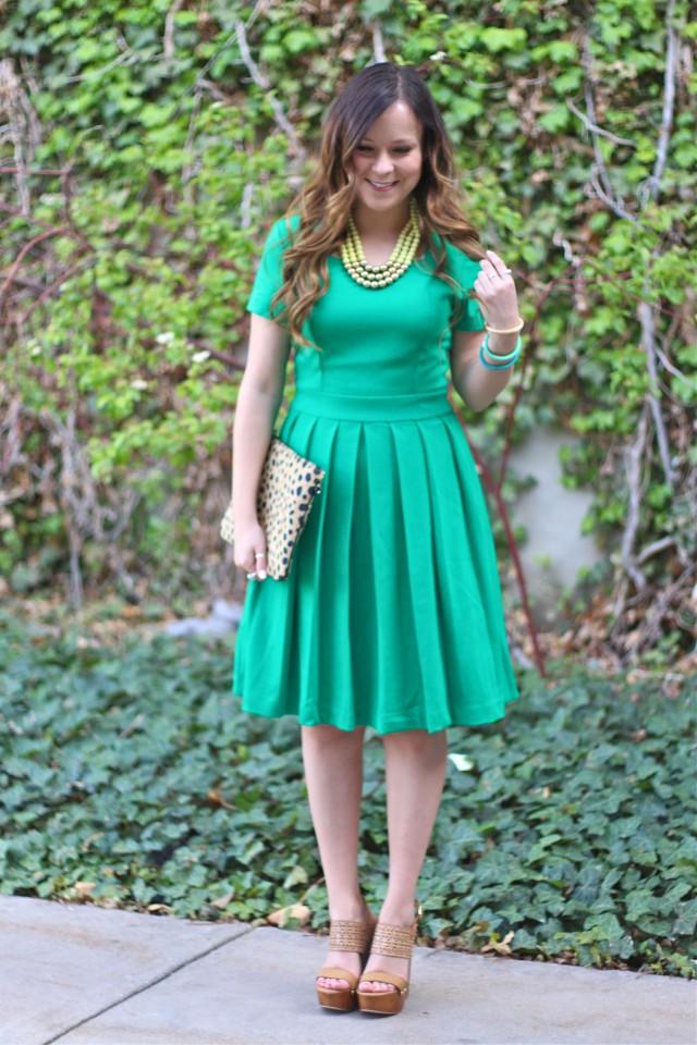 green dress 8
