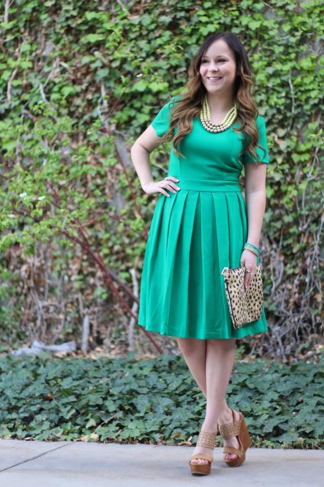 green dress 10