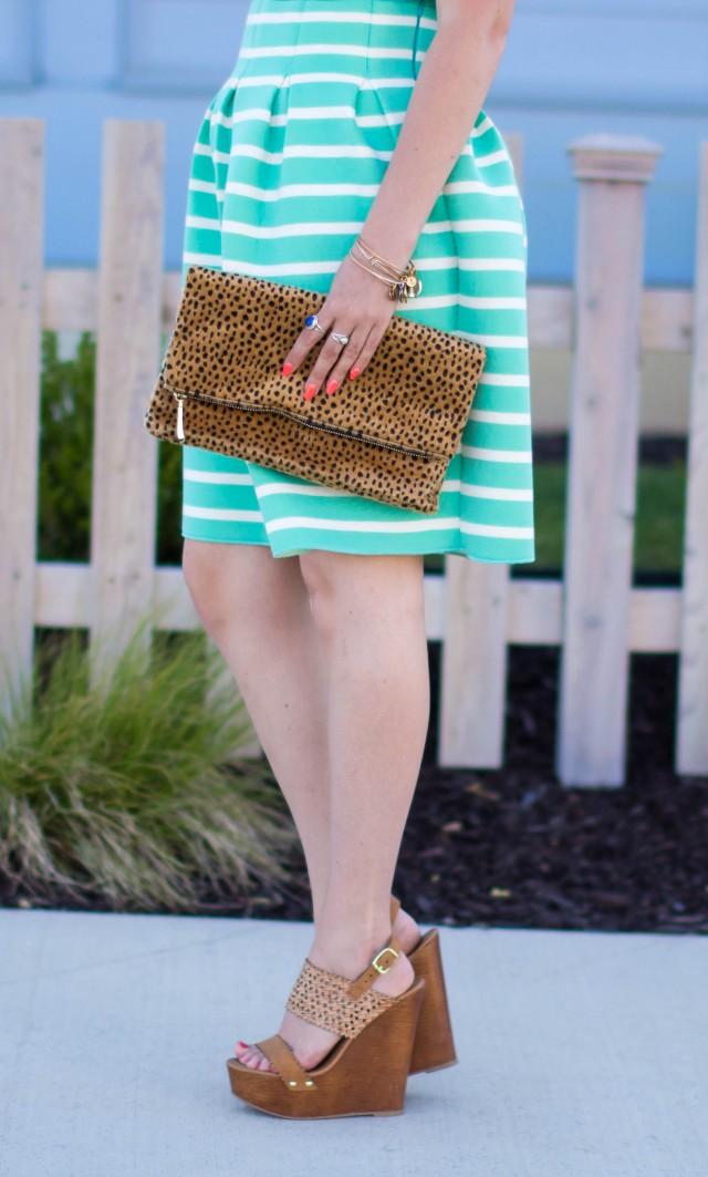 Mint Striped Skirt Neesees Dresses (22 of 27)
