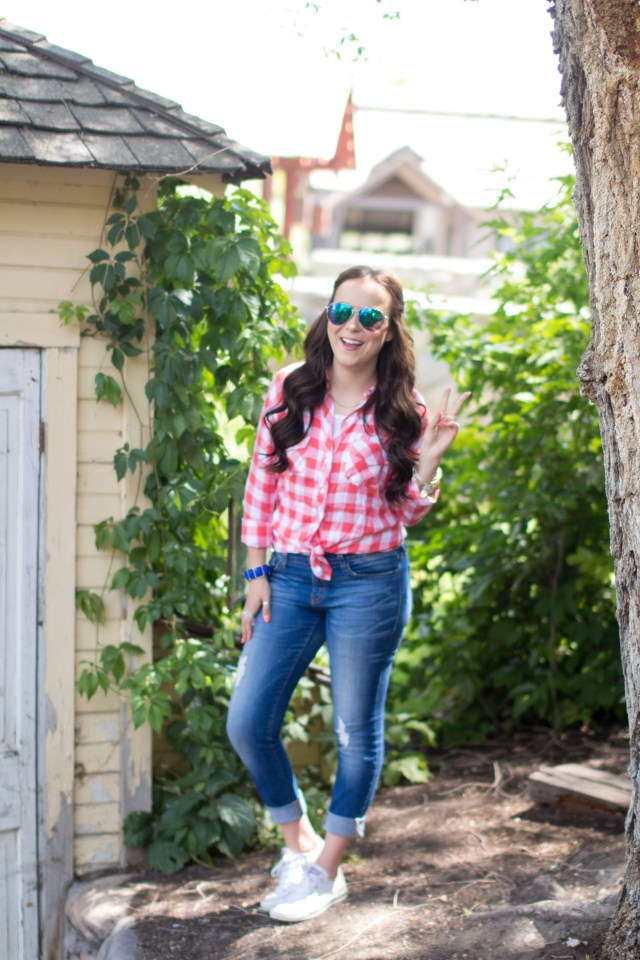 Red Gingham Top (11 of 20)