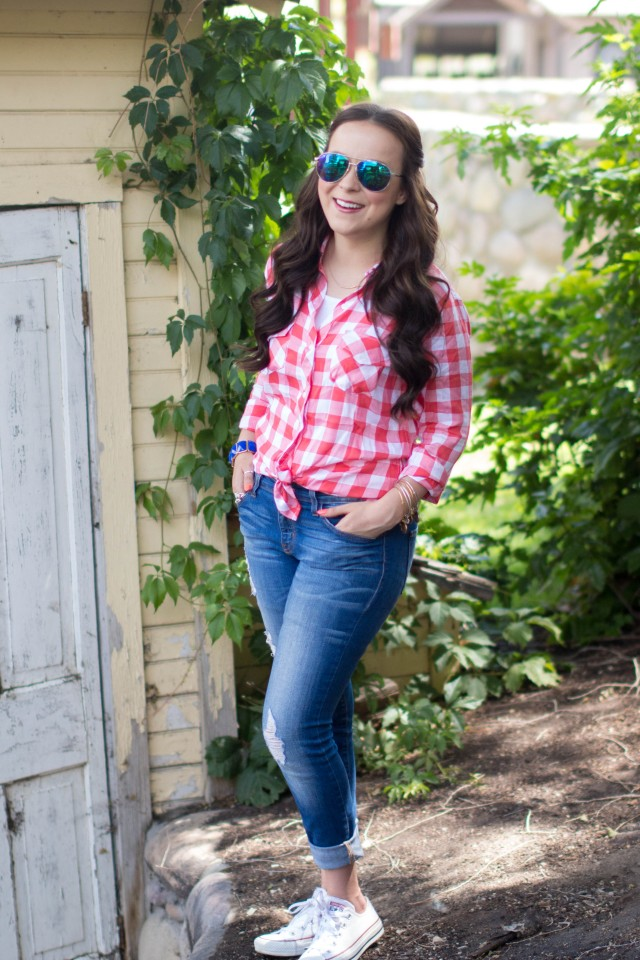Red Gingham Top (16 of 20)