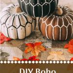 DIY Dollar Store Bohemian Pumpkins Tutorial