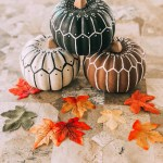 DIY Dollar Store Bohemian Pumpkins Tutorial