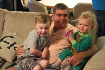 Grandpa and his boys
