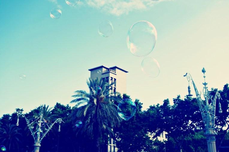 bubbles in barna