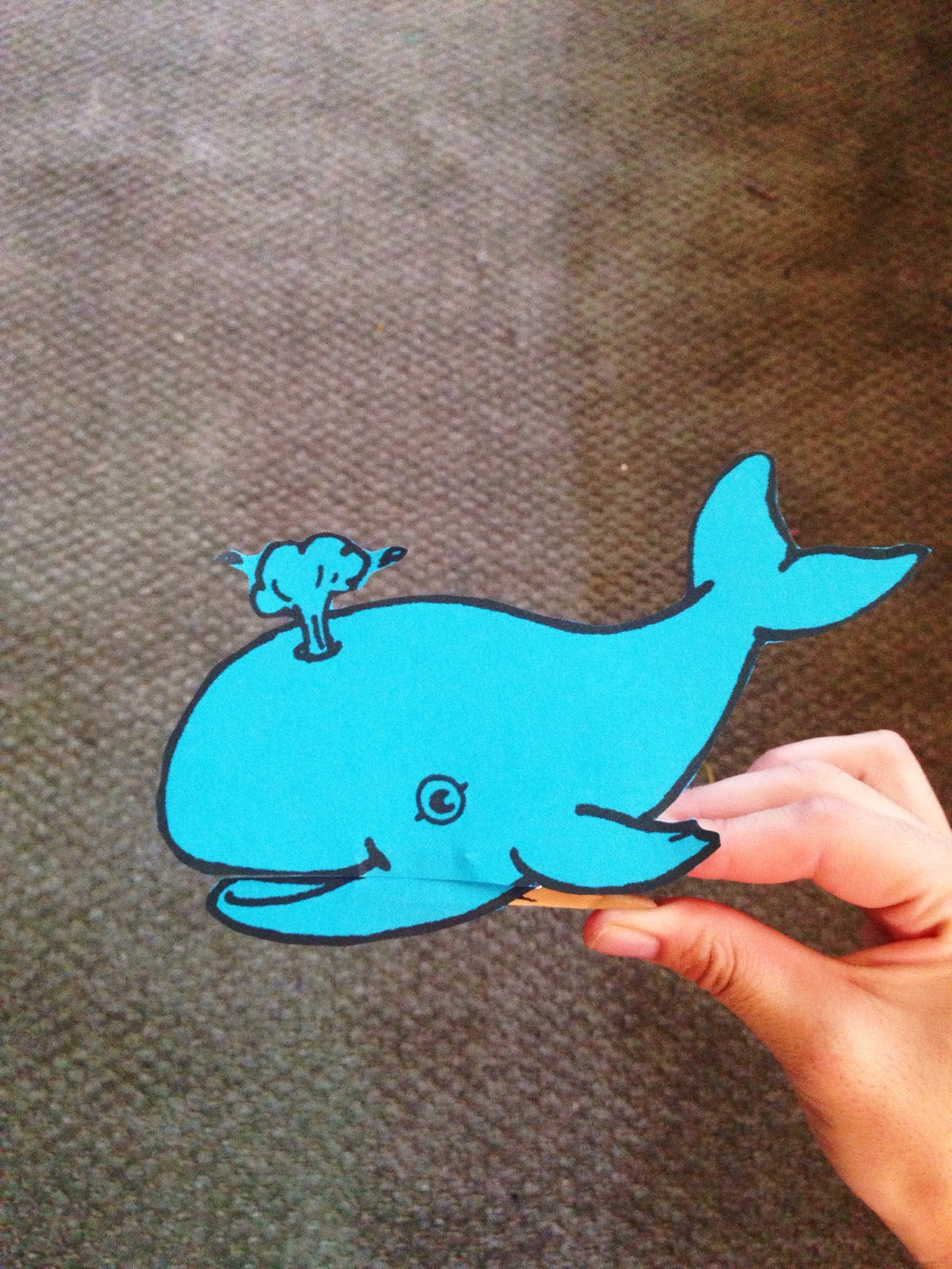 Jonah And The Whale Craft All You Need Is A Clothespin