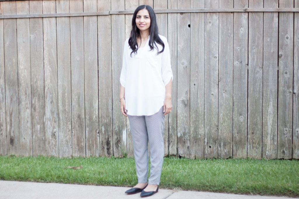 what to wear to ISNA tunic with silk pants