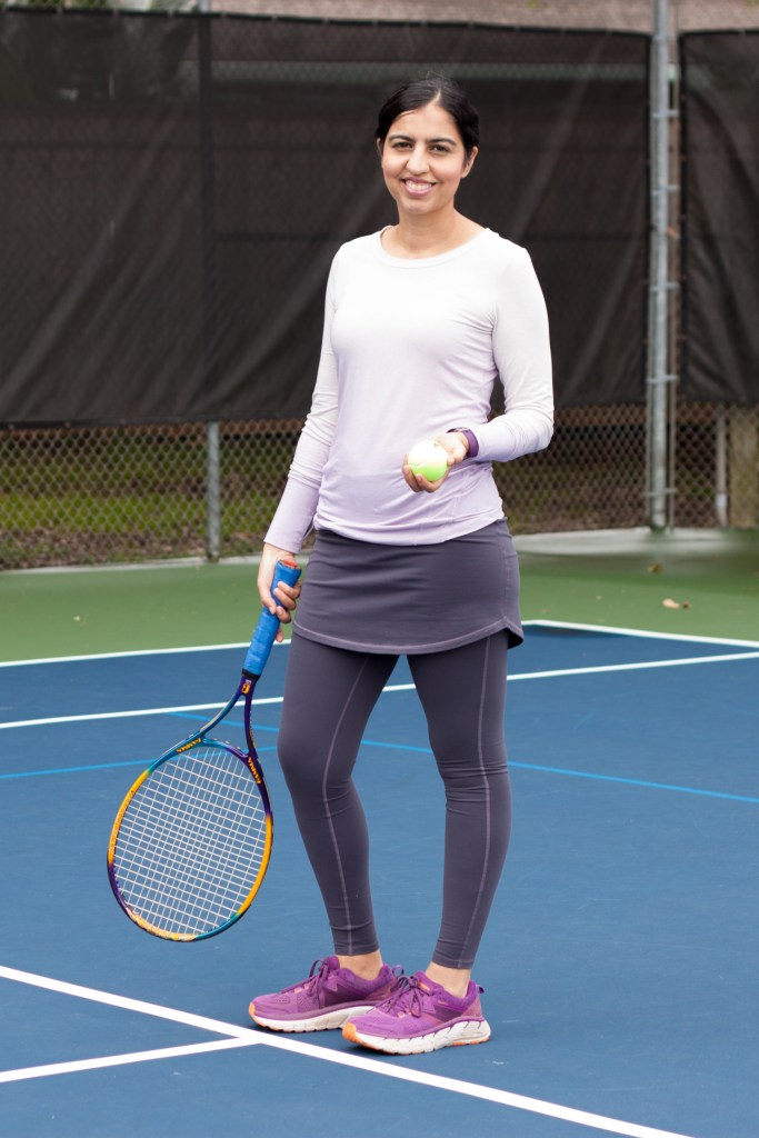 modest workout clothes skirted leggings