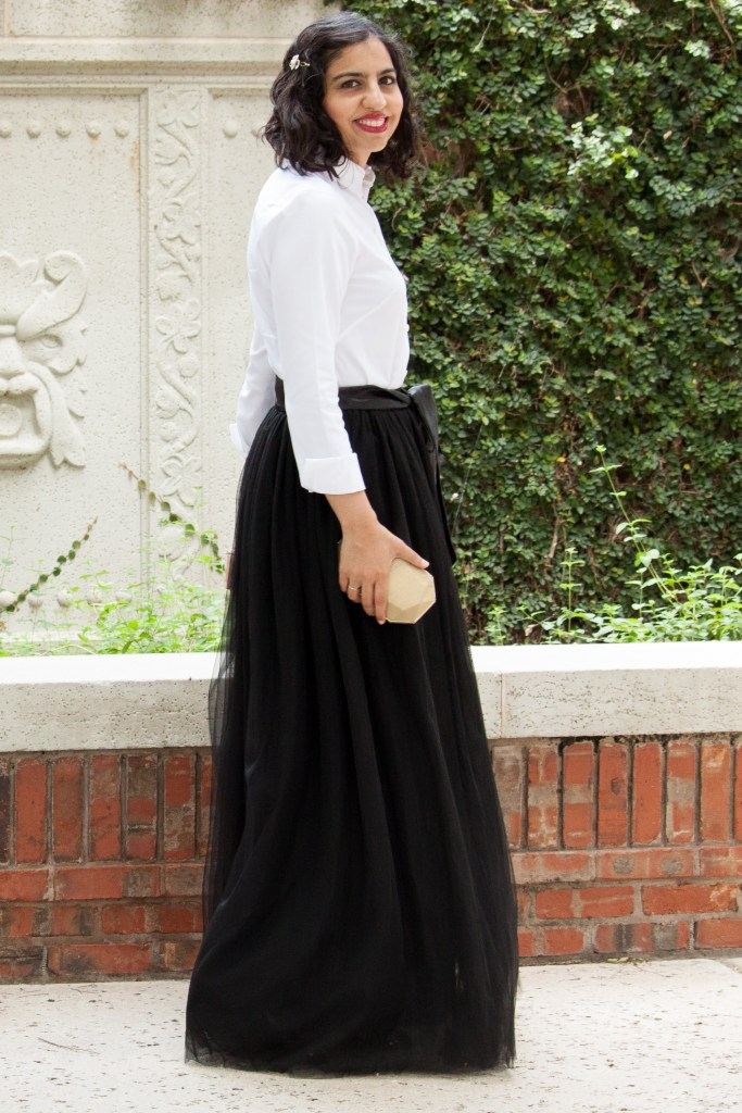 modest holiday skirt and top