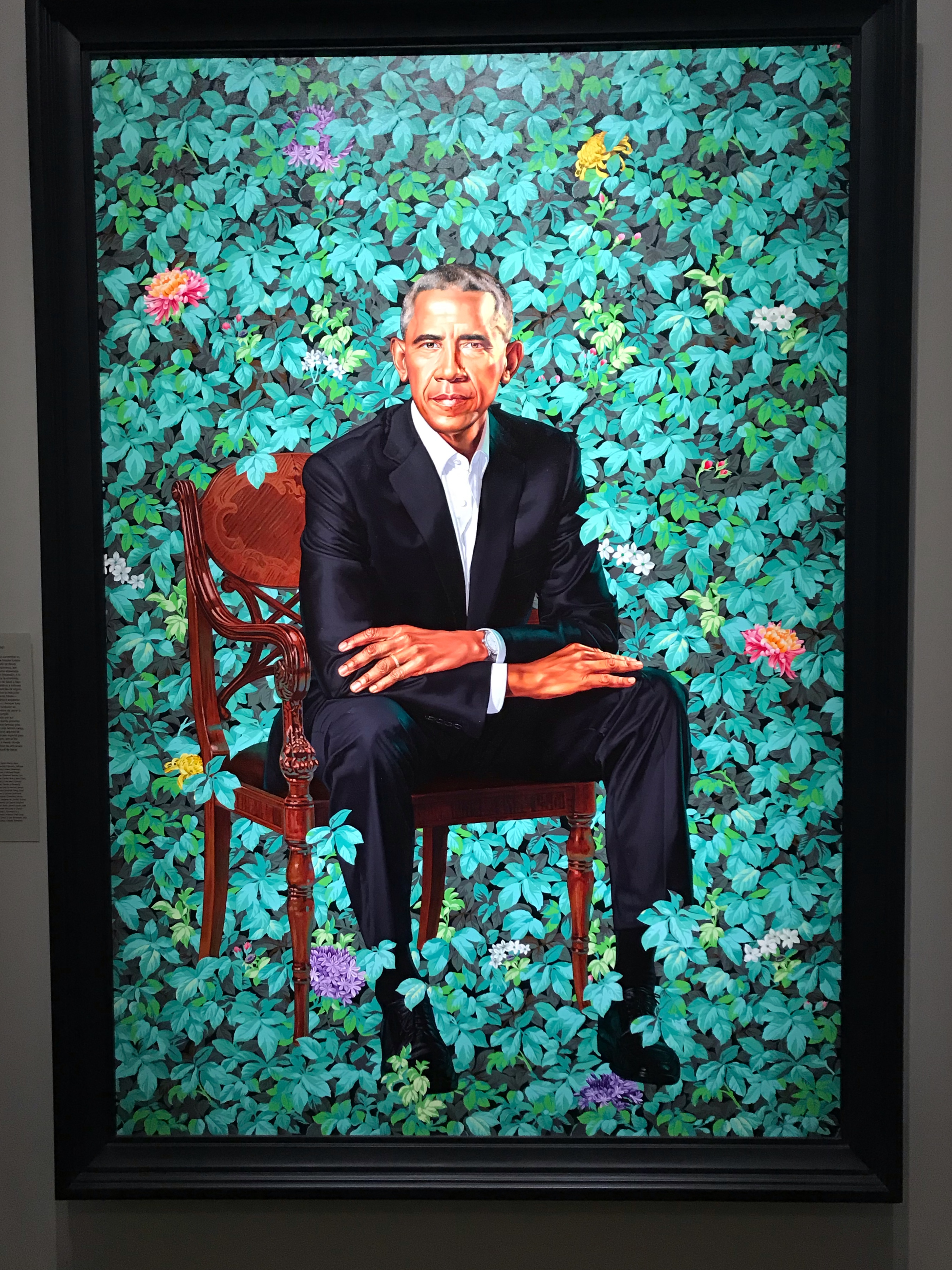 barak obama presidential portrait