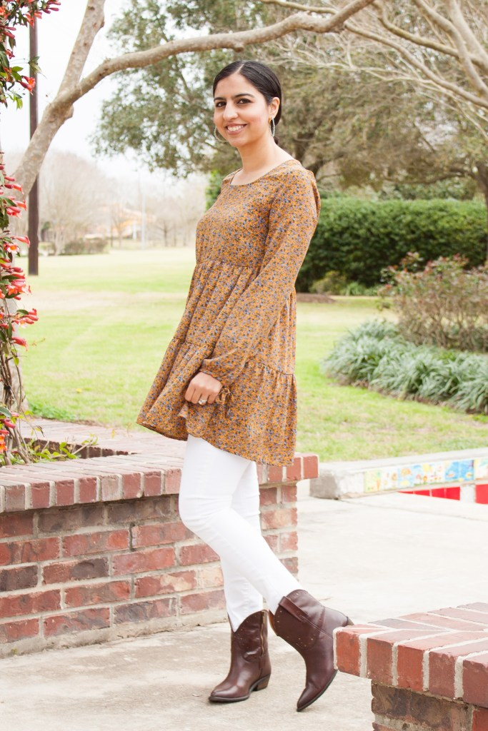 what to wear to rodeo Houston babydoll dress