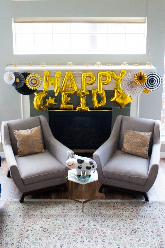easy eid decor ideas display