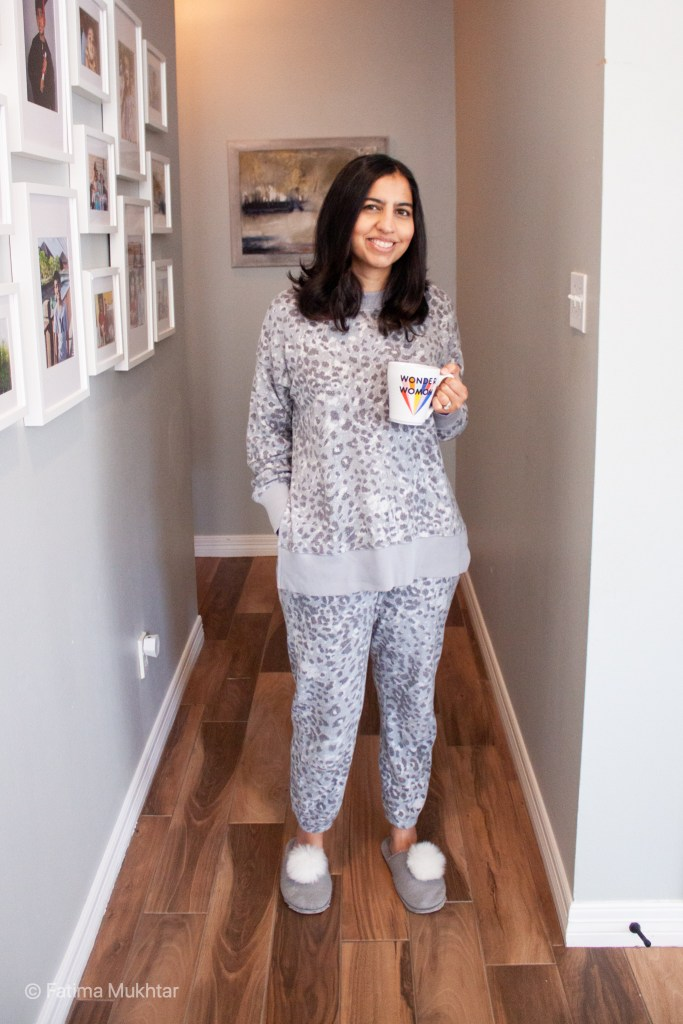 cozy co ord set tunic sweatshirt and matching pants