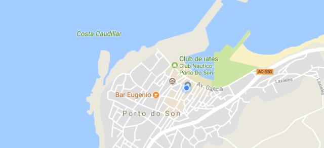 Porto do Son en Google Maps