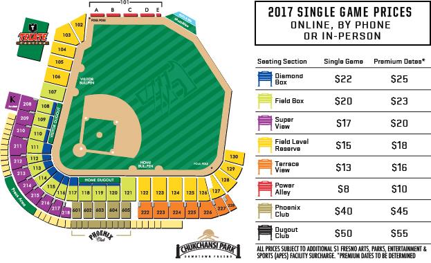 Ticket Options  Fresno Grizzlies Tickets