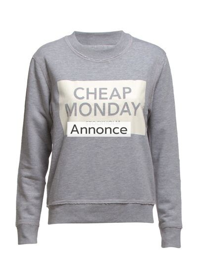 CHEAP MONDAY Ellie Sweat Inverted Cm Sthlm