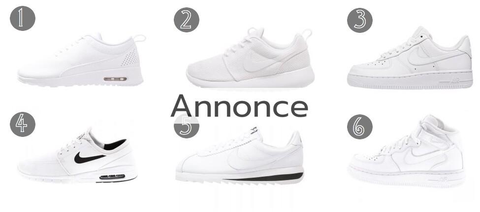 nike hvide sneakers med kilehæle rabatkode udsalg tilbud til unge thea