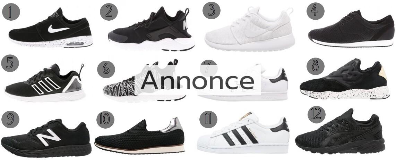 sneakers forår modetendenser nike adidas roshe udsalg rabat