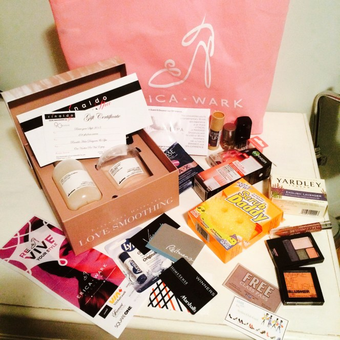 Mode XLusive Chantal Sarkisian Erica Wark VIP Swag Bag from Revive Your Style 2015