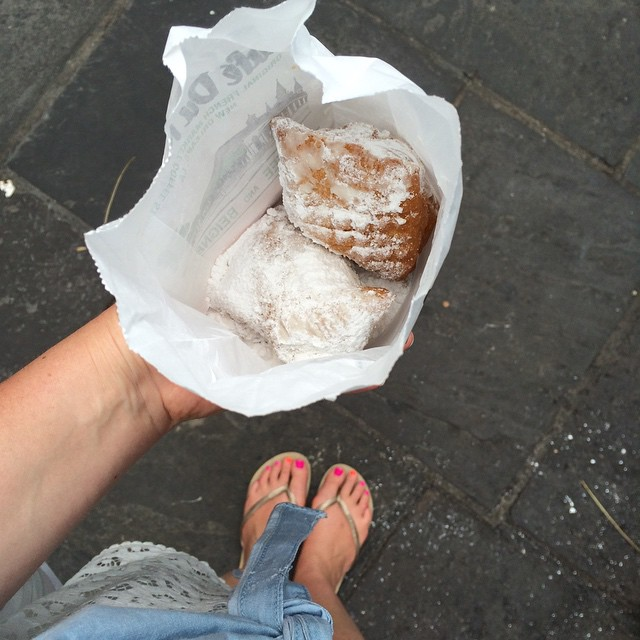 New Orleans Chantal Sarkisian Mode Xlusive Plus Size Blog Ottawa Cafe du Monde