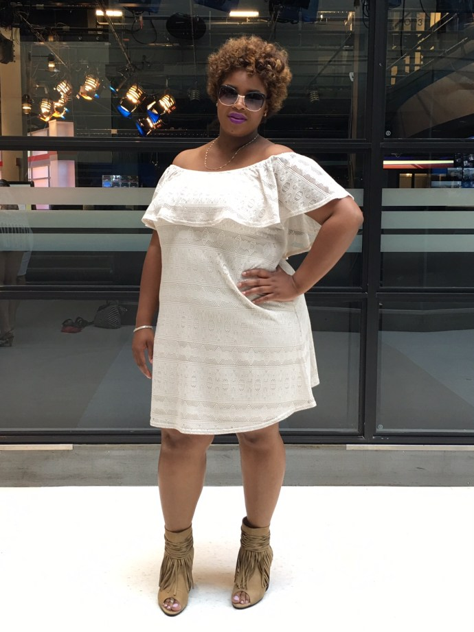Plus size dress Addition Elle Ottawa Fashion Blog