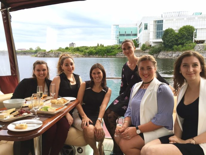 Casino Lac Leamy Gatineau Ottawa Fashion Blog boat ride for high rollers