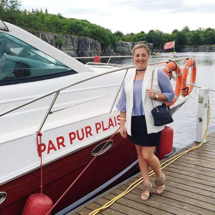Casino Lac Leamy Gatineau Ottawa Fashion Blog boat ride for high rollers 5