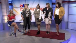 Ottawa Fashion Blog Le Chateau plus size shopping CTV morning live