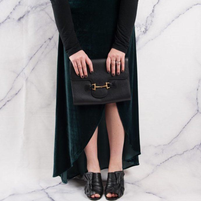 green velvet skirt ottawa fashion blog