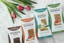 Metro local products Ottawa_Fashion Blog_Enerjive quinoa crackers 1