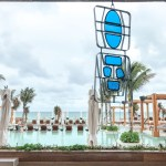 A view of a glass sculpture at the Grand Mayan's luxury club on the beach near Playa del Carmen, Mexico, in the Yucatan Peninsula