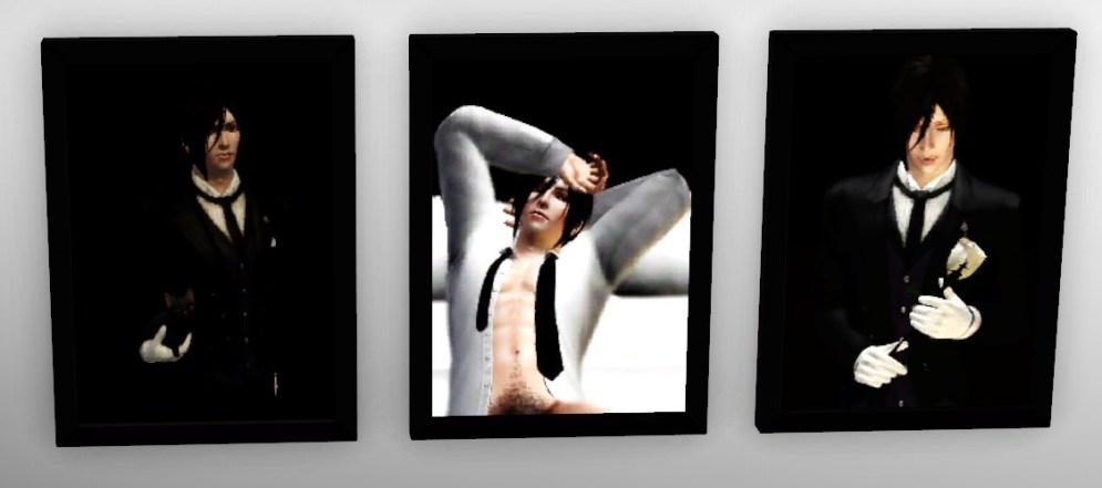 Sebastian painting vertical