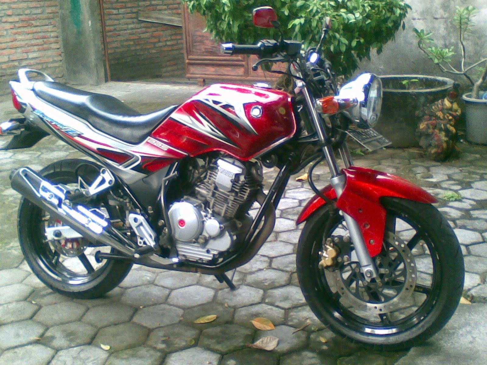 40 Gambar Modifikasi Yamaha Scorpio Sporty Keren  Modif Drag