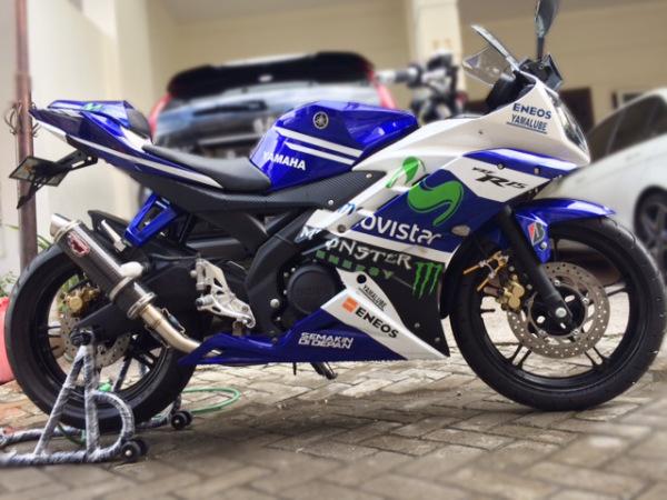 40 Gambar Modifikasi Yamaha R15  R25 Keren Terbaru