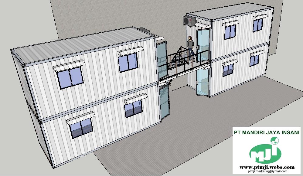 Modifikasi Konainer  Container Office Size 10 feet 20