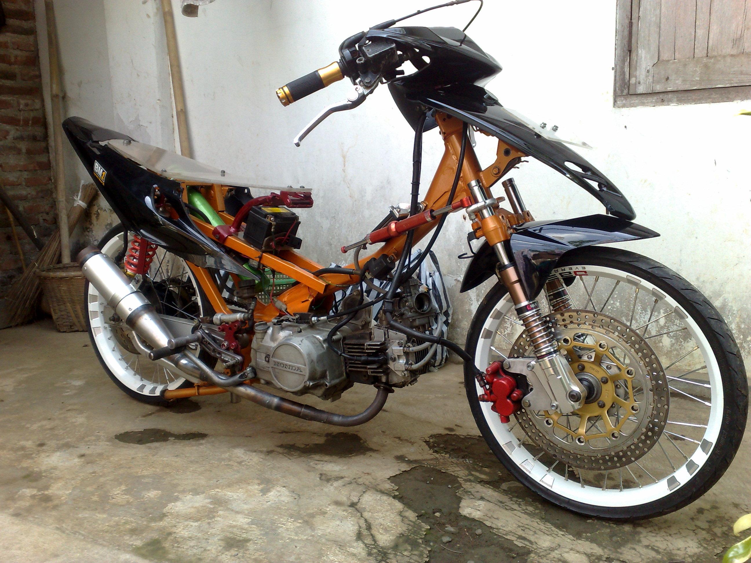 modifikasi motor drag  otomania