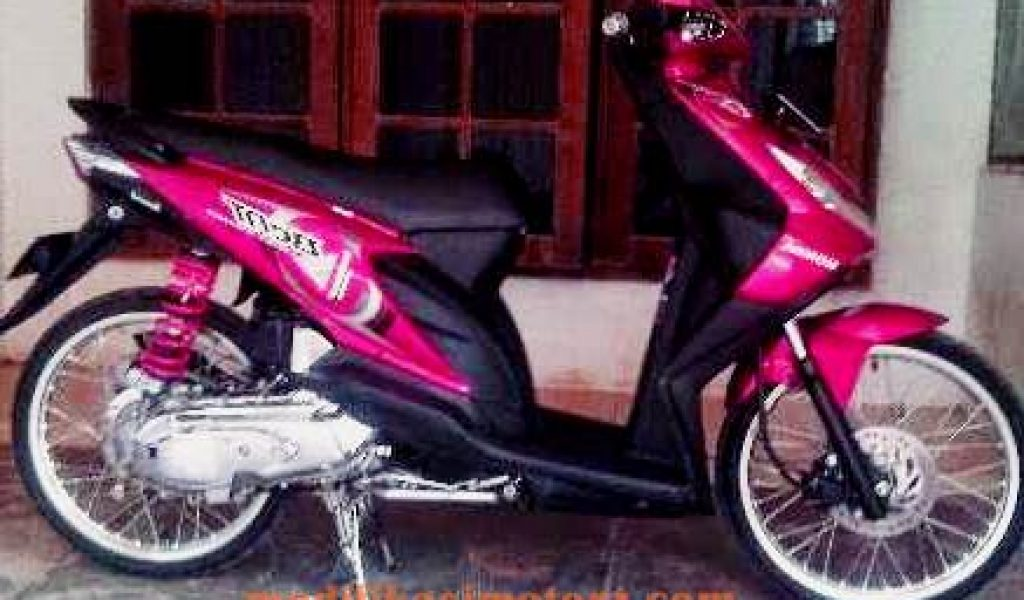 Motor Modifikasi Terkini Modifikasi Motor Beat Karbu Merah