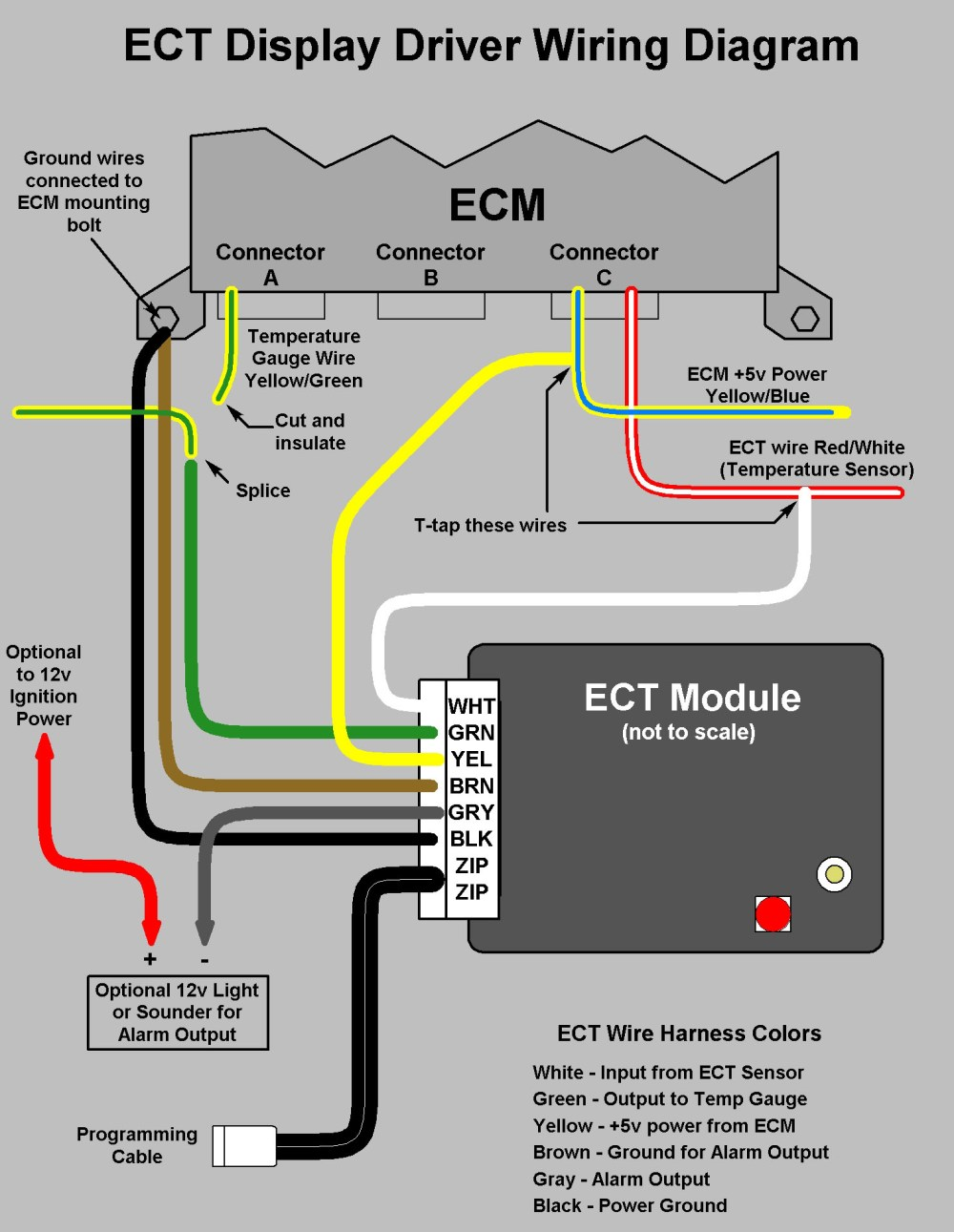 medium resolution of power gauge wiring diagram