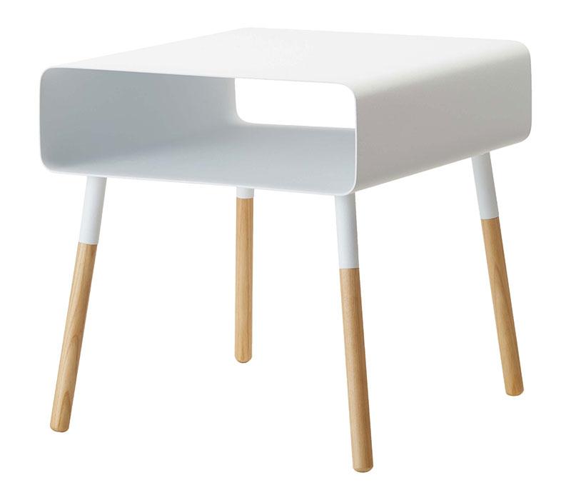 Plain Side Table w/ Storage