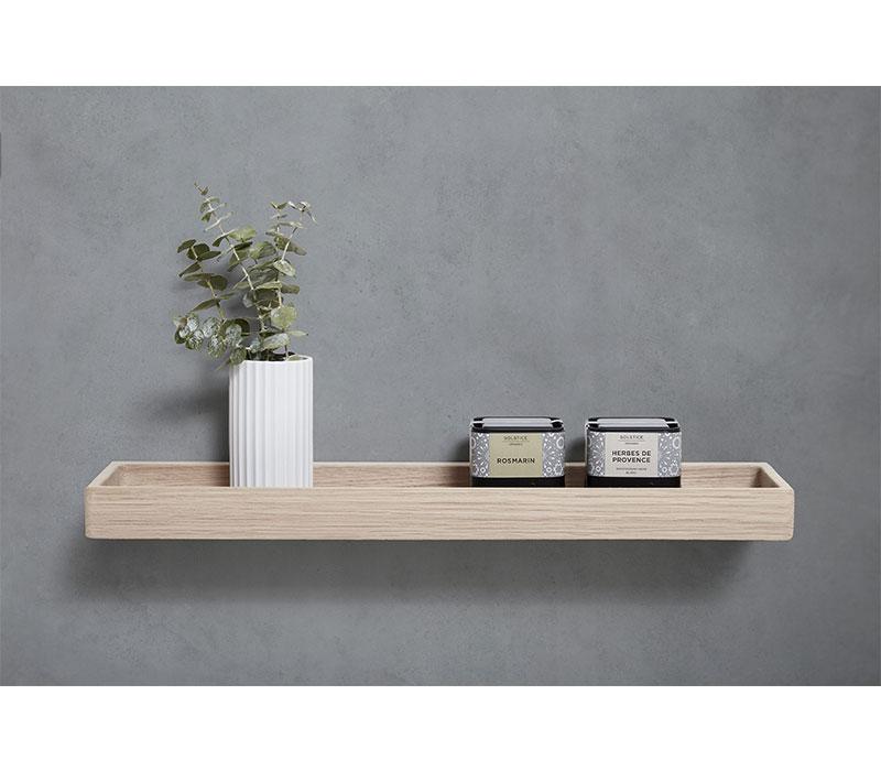 Sleek shelf