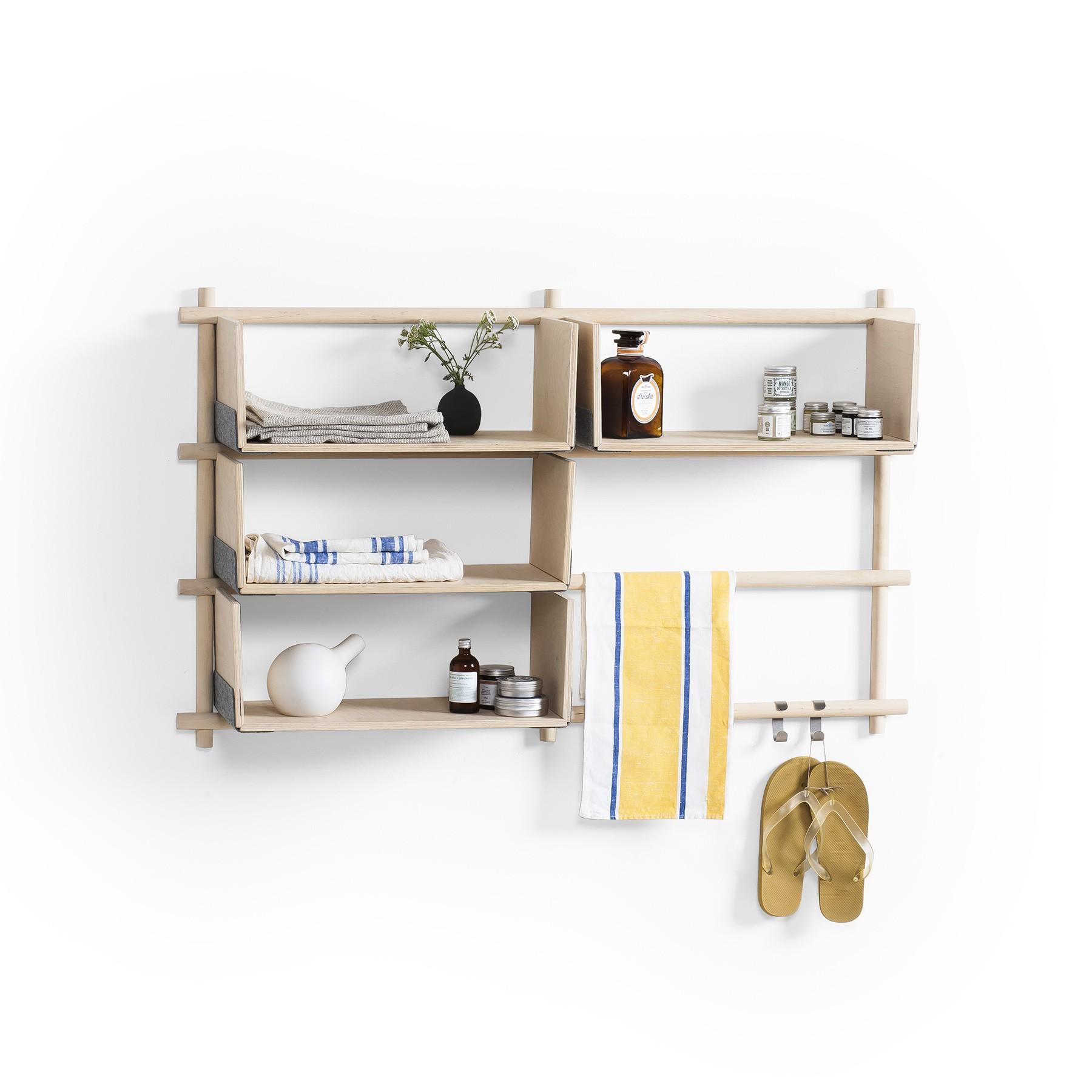Folding Shelf System