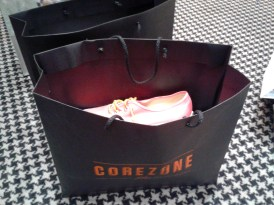 Corezone pink shoes