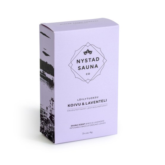 Nystad berk - Lavendel saunageur