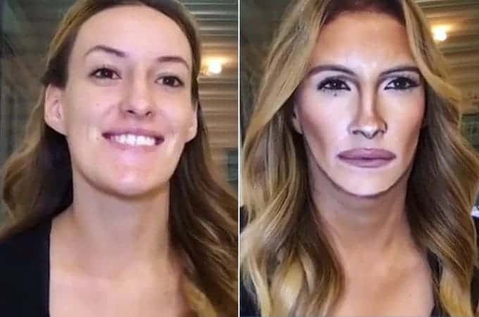 Makeup to look like celebrities; who wouldn't love that!