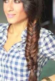 fishtail braid hairstyles black